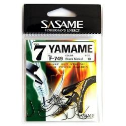 Anzuelo Sasame Yamame F-749 Black Nikel