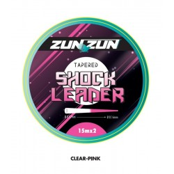ZUN ZUN BICOLOR TAPERED LEADER SHOCK LEADER 2x15