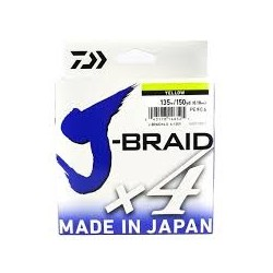 J-BRAID X4 DAIWA 135M Color: Amarillo