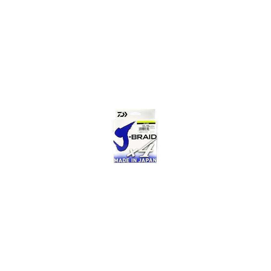 J-BRAID X4 DAIWA 135M Color: Amarillo