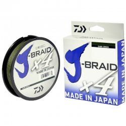 J-BRAID X4 DAIWA 270M Color: Verde Oscuro
