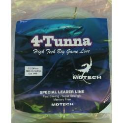 NYLON 4-TUNNA SPECIAL LEADER LINE MDTECH