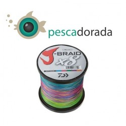J-BRAID X8 DAIWA multicolor 1500m