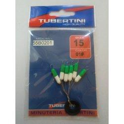 Flotters cilindricos Tubertini color 01 blanco y verde