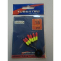 Flotters cilindricos Tubertini color 04 amarillo y fuxia