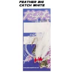 Yuki Feather Big Catch White 7/0