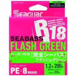 Seaguar Seabass Flash Green R18 200 mt