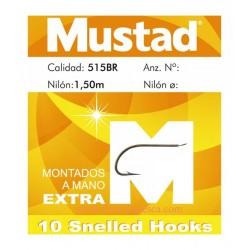 ANZUELOS MONTADOS MUSTAD 515BR