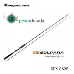 MAJOR CRAFT SOLPARA SPX-862E 2.5-3.5 egi  0.4-1.2 PE