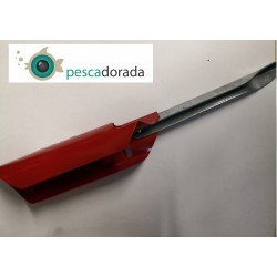 Kali Kunnan Soporte Tubo Metálico Plegable 40cm Rojo