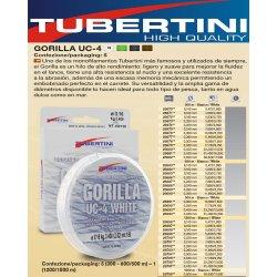 Tubertini Gorilla UC-4 WHITE 1200 metros