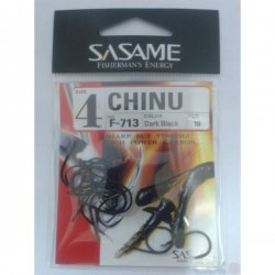 Anzuelo Sasame Chinu F-713 Dark Black