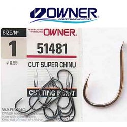 Anzuelo Owner Cut Super Chinu (51481)