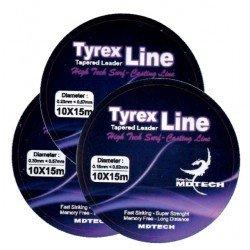 MDTECH Tyrex Line 10x15  (NARANJA)