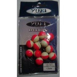 Perlas Flotantes Redondas Yuki Rosa Luminoso