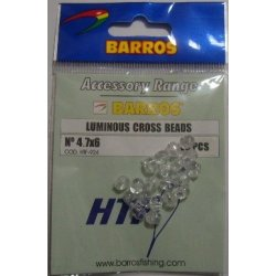 Perlas Doble Taladro 4.7x6mm Barros