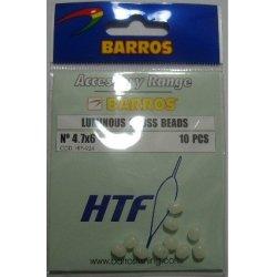 Perlas Cross Luminosas 4,7x6mm Barros