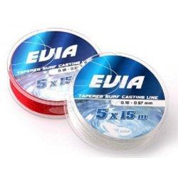 Evia Tapered Surf Casting Line 5x15 Transparente