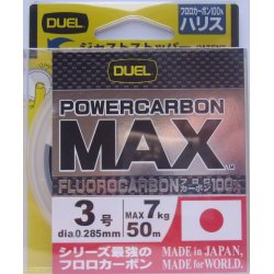 DUEL Power Carbon MAX 50 metros