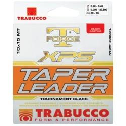 TRABUCCO XPS Taper Leader 10x15 metros