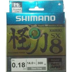 SHIMANO KaIriki SX 8 Color Gris 300 m