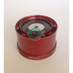 Bobina Aluminio Evo Spools KISU FL-XSD Rojo