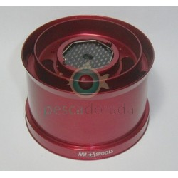 Bobina Aluminio MV Spools Ultegra XSD Rojo